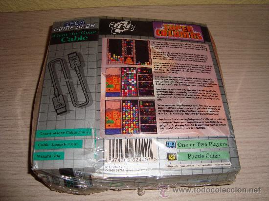 Videojuegos y Consolas: JUEGO SUPER COLUMNS DE SEGA GAME GEAR AÑO 95 INCLUYE CABLE PRECINTADO!!! - Foto 2 - 29085041
