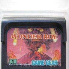 WONDER BOY - JUEGO PARA SEGA GAME GEAR.