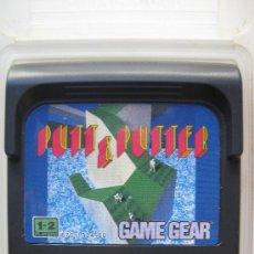 PUTT & PUTTER - JUEGO PARA SEGA GAME GEAR.
