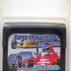 Videojuegos y Consolas: SUPER MÓNACO GP - JUEGO PARA SEGA GAME GEAR.. Lote 30593427