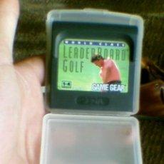 Juego Game Gear con estuche Leader Board Golf