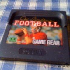 Videojuegos y Consolas: FOOTBALL JUEGO PARA SEGA GAME GEAR SOLO CARTUCHO - GAMEGEAR GG. Lote 31826991