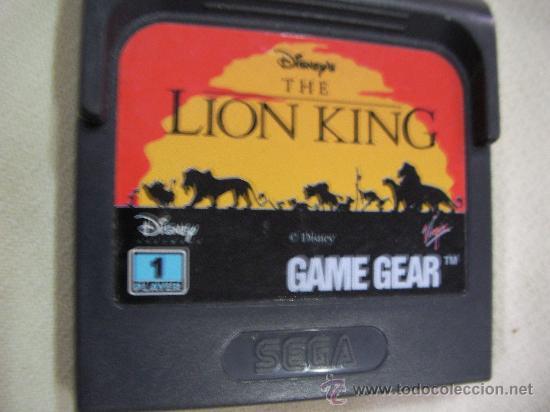 ANTIGUO JUEGO GAME GEAR REY LEON (Juguetes - Videojuegos y Consolas - Sega - GameGear)