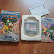 juego original sega game gear completo