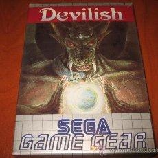 DEVILISH SEGA GAME GEAR PAL ESPAÑOL COMPLETO GAMEGEAR
