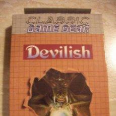 Videojuegos y Consolas: ANTIGUO JUEGO CLASSIC GAME GEAR DEVILISH NUEVO EN SU CAJA SIN USAR DE TIENDA. Lote 37164124