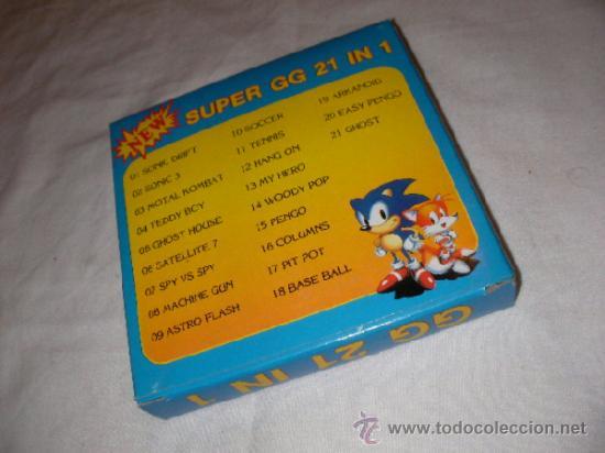 ANTIGUO JUEGO SEGA GAME GEAR 21 EN 1 - NUEVO EN SU CAJA (Juguetes - Videojuegos y Consolas - Sega - GameGear)