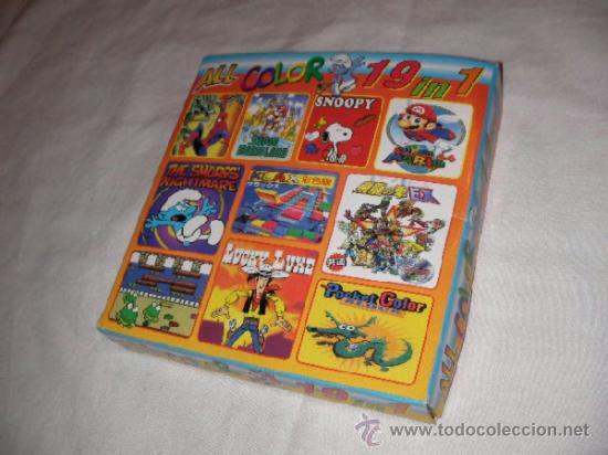 ANTIGUO JUEGO SEGA GAME GEAR 19 EN 1 - NUEVO EN SU CAJA (Juguetes - Videojuegos y Consolas - Sega - GameGear)