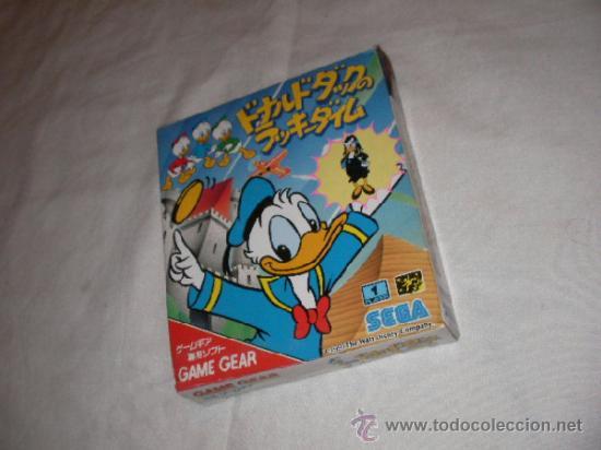 ANTIGUO JUEGO SEGA GAME GEAR PATO DONALD - NUEVO EN SU CAJA (Juguetes - Videojuegos y Consolas - Sega - GameGear)