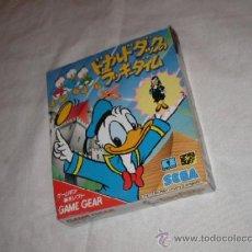 Videojuegos y Consolas: ANTIGUO JUEGO SEGA GAME GEAR PATO DONALD - NUEVO EN SU CAJA. Lote 40504127