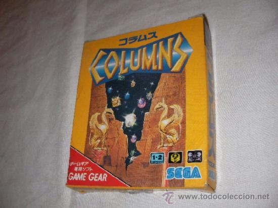 ANTIGUO JUEGO SEGA GAME GEAR COLUMNS - NUEVO EN SU CAJA (Juguetes - Videojuegos y Consolas - Sega - GameGear)