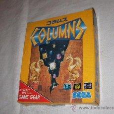 Videojuegos y Consolas: ANTIGUO JUEGO SEGA GAME GEAR COLUMNS - NUEVO EN SU CAJA. Lote 37515370