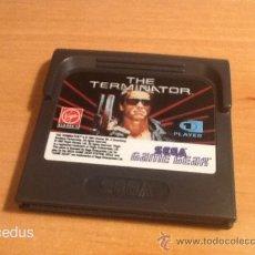 Videojuegos y Consolas: THE TERMINATOR JUEGO PARA SEGA GAME GEAR GAMEGEAR SÓLO CARTUCHO. Lote 37498715