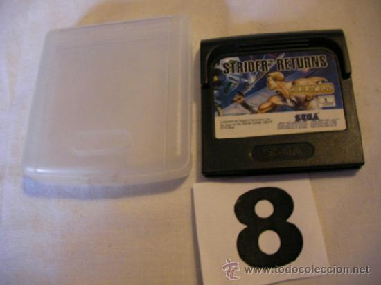 ANTIGUO JUEGO ORIGINAL SEGA GAMEGEAR - STRIDER RETURNS (Juguetes - Videojuegos y Consolas - Sega - GameGear)