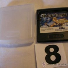 Videojuegos y Consolas: ANTIGUO JUEGO ORIGINAL SEGA GAMEGEAR - STRIDER RETURNS. Lote 37843536