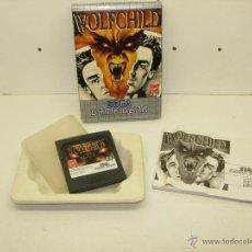 Videojuegos y Consolas: JUEGO WOLFCHILD SEGA GAME GEAR GAMEGEAR. Lote 39575554