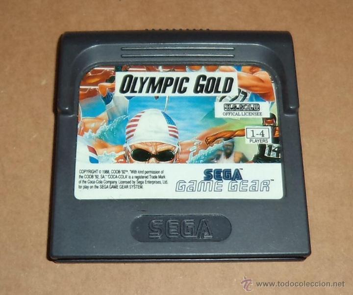 OLYMPIC GOLD PARA SEGA GAME GEAR, PAL (Juguetes - Videojuegos y Consolas - Sega - GameGear)
