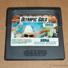 Videojuegos y Consolas: OLYMPIC GOLD PARA SEGA GAME GEAR, PAL. Lote 41287703
