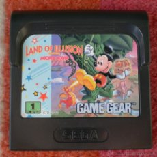 Juego Sega Game Gear Land Of Illusion Mickey Mouse