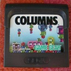Videojuegos y Consolas: JUEGO SEGA GAME GEAR COLUMNS. Lote 41781884