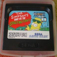 Videojuegos y Consolas: JUEGO SEGA GAME GEAR THE SIMPSONS BART VS. THE SPACE MUTANTS. Lote 41781988