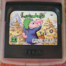 Videojuegos y Consolas: JUEGO SEGA GAME GEAR LEMMINGS. Lote 41782038