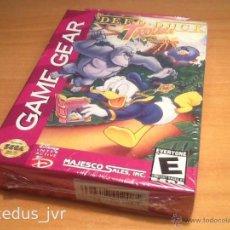 Videojuegos y Consolas: DEEP DUCK TROUBLE STARRING DONALD DUCK JUEGO PARA SEGA GAMEGEAR GAME GEAR NUEVO Y PRECINTADO. Lote 43887735