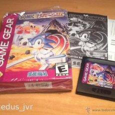 Videojuegos y Consolas: SONIC SPINBALL JUEGO PARA SEGA GAMEGEAR GAME GEAR NUEVO. Lote 43887738