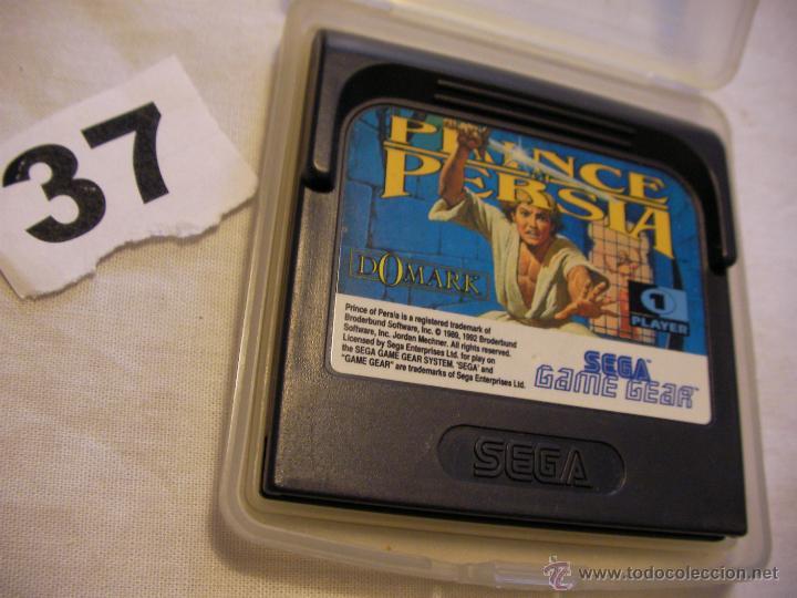 JUEGO PRINCE PERSIA PARA GAMEGEAR (Juguetes - Videojuegos y Consolas - Sega - GameGear)