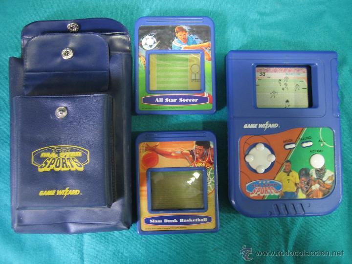 CONSOLA GAME WIZARD CON 2 JUEGOS. FUNCIONA (Juguetes - Videojuegos y Consolas - Sega - GameGear)