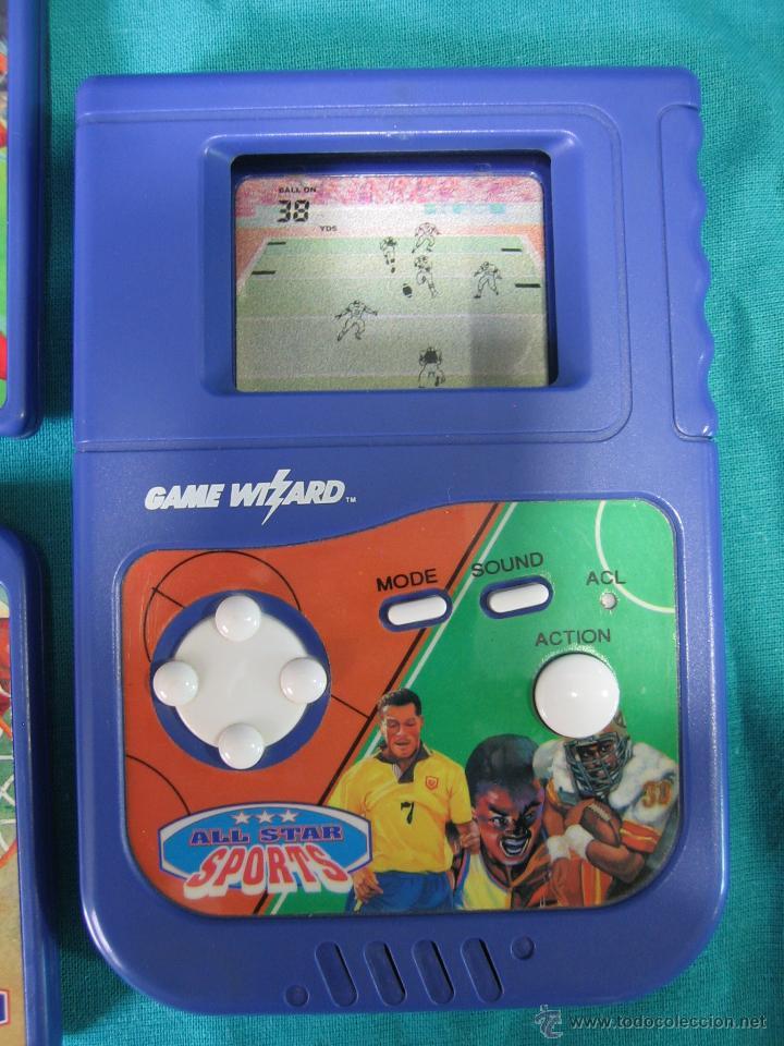 Videojuegos y Consolas: Consola Game Wizard con 2 juegos. Funciona - Foto 3 - 45103959