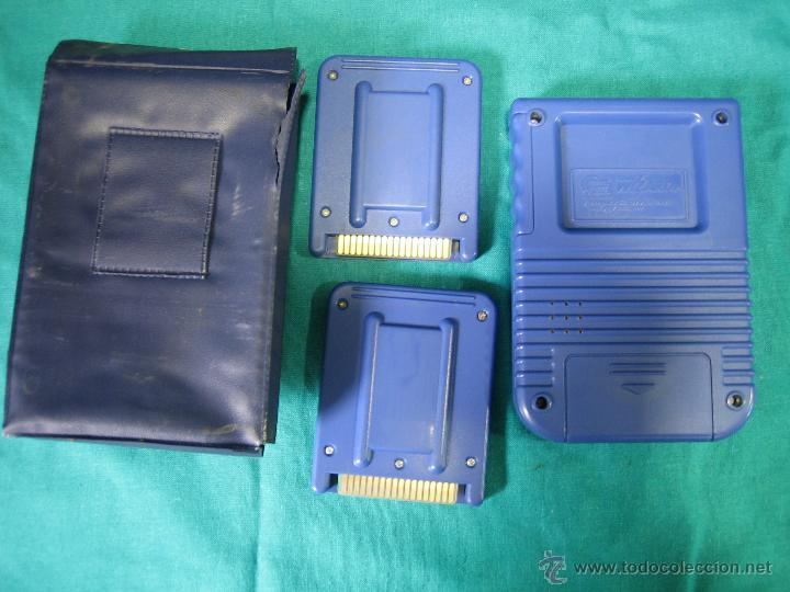Videojuegos y Consolas: Consola Game Wizard con 2 juegos. Funciona - Foto 5 - 45103959
