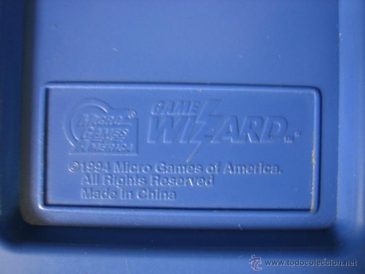 Videojuegos y Consolas: Consola Game Wizard con 2 juegos. Funciona - Foto 6 - 45103959