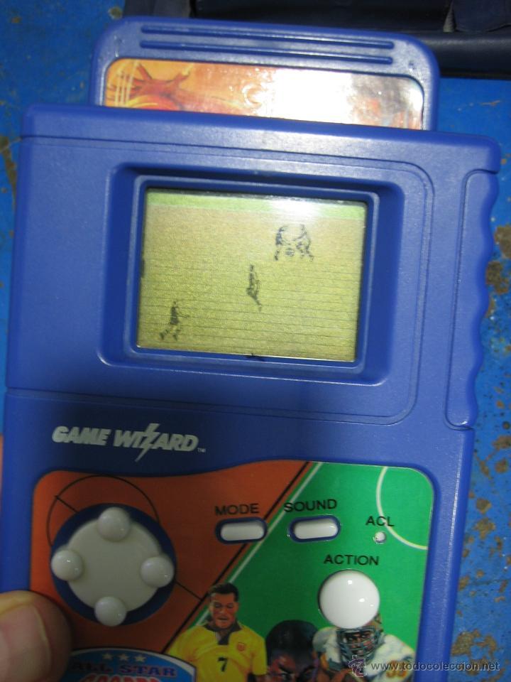 Videojuegos y Consolas: Consola Game Wizard con 2 juegos. Funciona - Foto 7 - 45103959