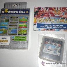 Videojuegos y Consolas: SEGA GAME GEAR JUEGO OLYMPIC GOLD. Lote 45462671