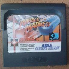 Videojuegos y Consolas: JUEGO GAME GEAR SEGA GAMEGEAR MARBLE MADNESS . Lote 45905796