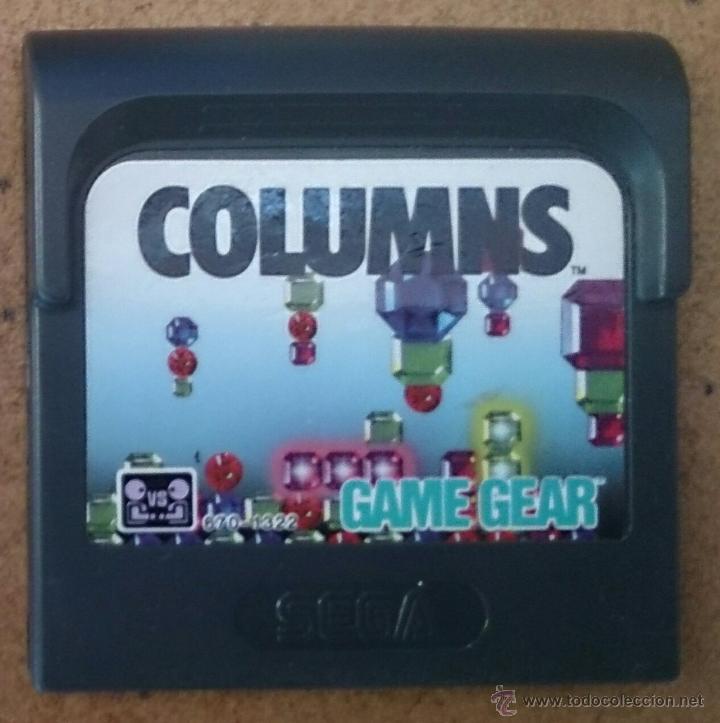 JUEGO GAME GEAR SEGA GAMEGEAR COLUMNS (Juguetes - Videojuegos y Consolas - Sega - GameGear)
