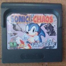 Videojuegos y Consolas: JUEGO GAME GEAR SEGA GAMEGEAR SONIC CHAOS . Lote 45905856