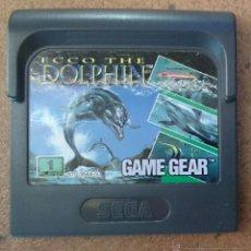 Videojuegos y Consolas: JUEGO GAME GEAR SEGA GAMEGEAR ECCO THE DOLPHINE . Lote 45905896
