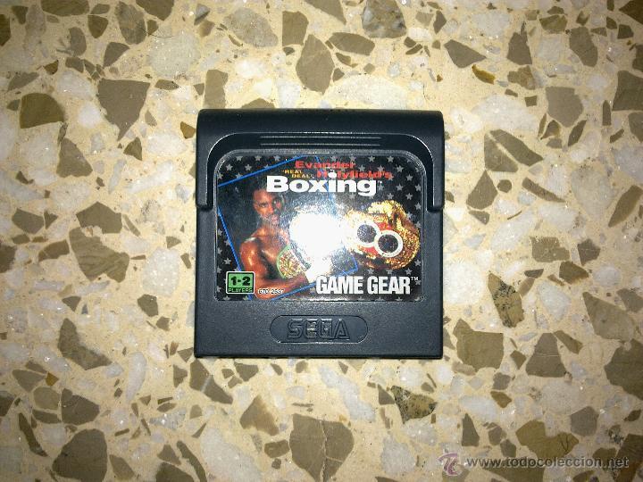 SEGA GAME GEAR - JUEGO EVANDER HOLYFIELD BOXING - GAMEGEAR (Juguetes - Videojuegos y Consolas - Sega - GameGear)