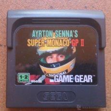 Videojuegos y Consolas: JUEGO GAME GEAR AYRTON SENNA'S SUPER MONACO GP II . Lote 51559987