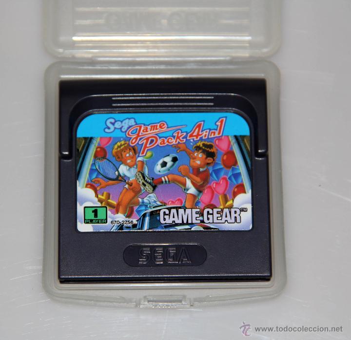 SEGA GAME GEAR PACK 4 IN 1 VIDEOJUEGO (Juguetes - Videojuegos y Consolas - Sega - GameGear)