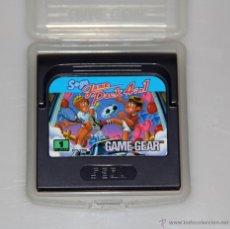 Videojuegos y Consolas: SEGA GAME GEAR PACK 4 IN 1 VIDEOJUEGO. Lote 52949265