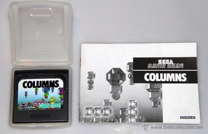 SEGA GAME GEAR COLUMNS VIDEOJUEGO (Juguetes - Videojuegos y Consolas - Sega - GameGear)