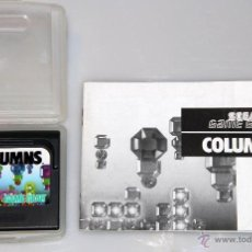 Videojuegos y Consolas: SEGA GAME GEAR COLUMNS VIDEOJUEGO. Lote 52949390