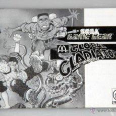 Videojuegos y Consolas: SEGA GAME GEAR MANUAL INSTRUCCIONES SUPER MONACO GP 2. Lote 52949804