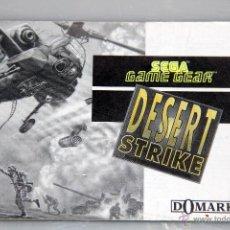Videojuegos y Consolas: SEGA GAME GEAR MANUAL INSTRUCCIONES DESERT STRIKE. Lote 52950106