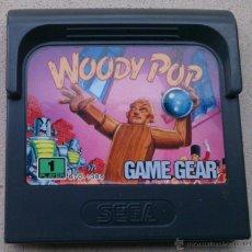 Videojuegos y Consolas: JUEGO GAME GEAR WOODY POP. Lote 53576858