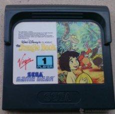 Videojuegos y Consolas: JUEGO GAME GEAR JUNGLE BOOK, EL LIBRO DE LA SELVA. Lote 53576864