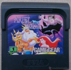 Videojuegos y Consolas: JUEGO GAME GEAR ARIEL LA SIRENITA, LITTLE MERMAID. Lote 53576891